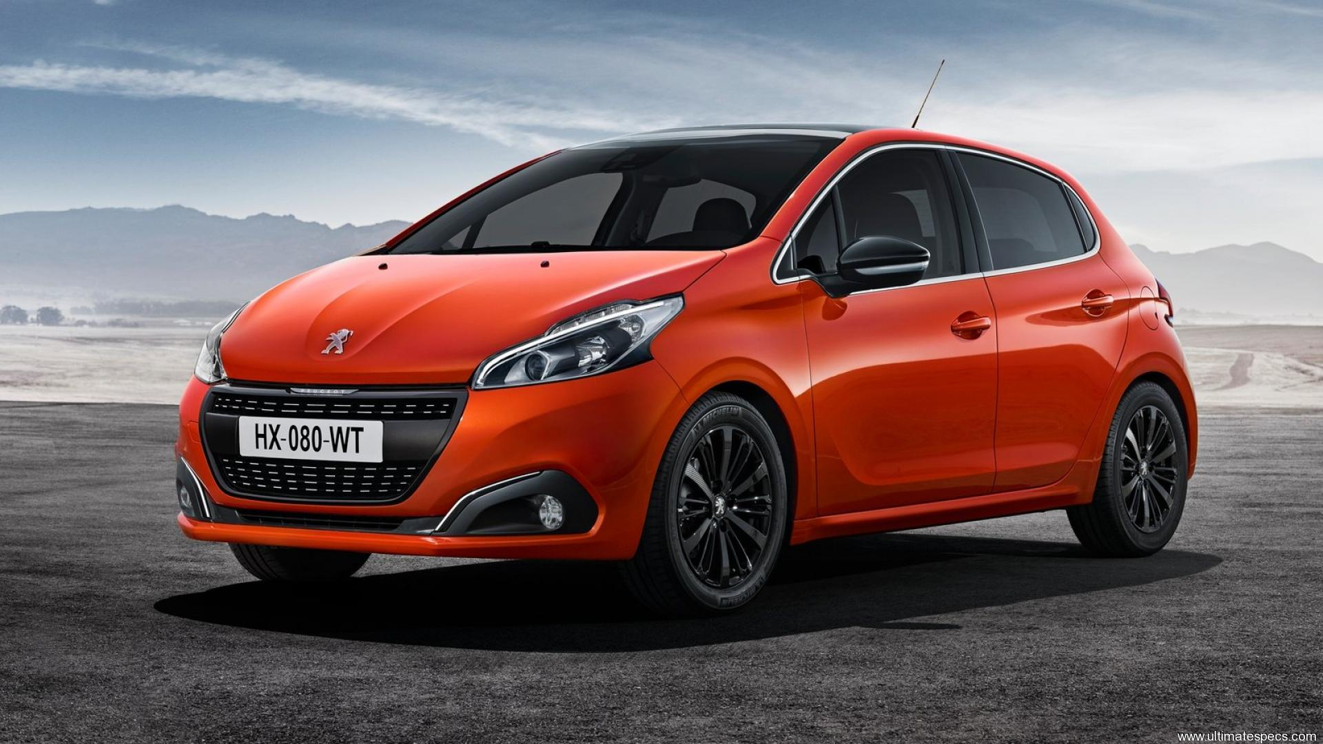 Peugeot 208 5-door (Facelift 2015)