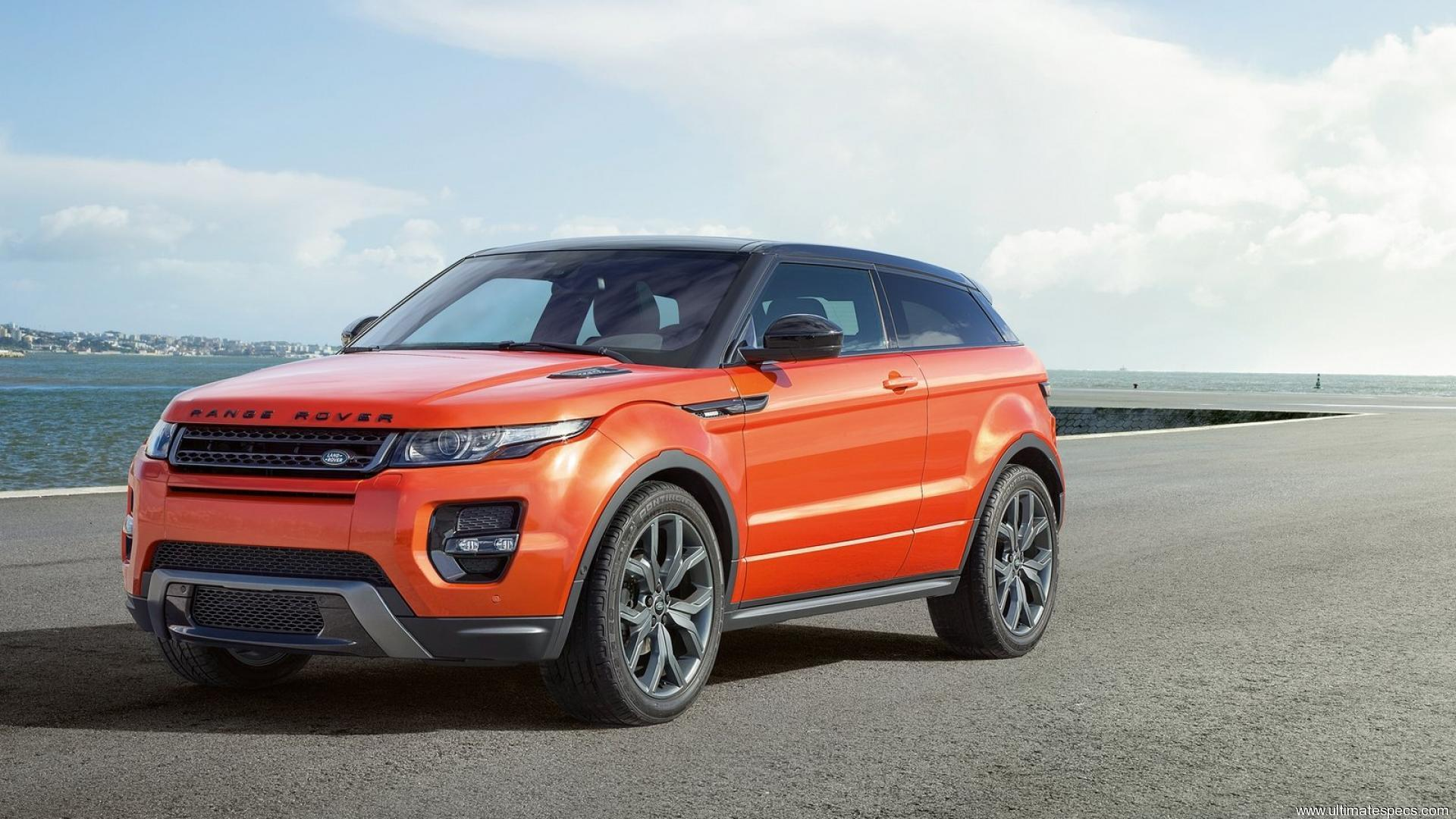 Land Rover Range Rover Evoque Coupe (2015 Facelift)